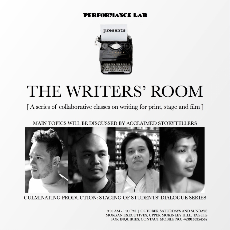 Writers Room Poster